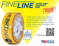 FineLine – Ultra Thin Painter's Tape