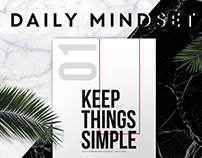 Daily Mindset - Poster Series
