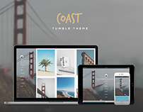 Coast Responsive Grid Tumblr Theme