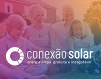 Conexão Solar - identidade visual