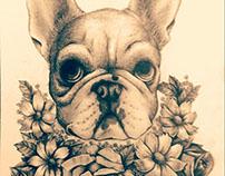 Ilustração para tatuagem