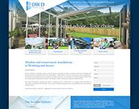 DWD Windows & Doors - Website