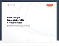 Design Agency Website -Clearcut.design