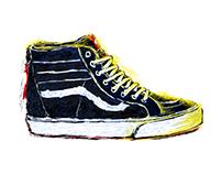 Vans Sk8-Hi Illustrations