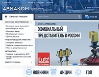 web design, Интернет-магазин Промышленное оборудование