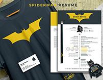 Batman Resume | CV (include in resume & coverletter)