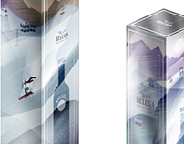 BELUGA New Year Package Design / Новогодняя упаковка
