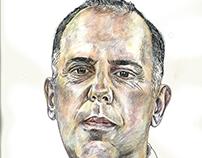 Chef Nuno Diniz - Retratos e Ilustrações