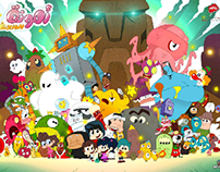 cartoon series poster