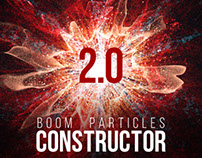 Boom Particles Logo Constructor 2
