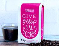 Help & Hope: Coffee Packaging + Promotion