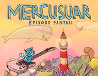 Mercusuar - Episode Fantasi. Music Album Cover