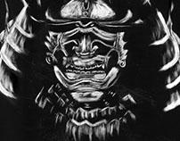 Scratchboard Samurai
