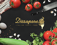 Dissapore - Design & Branding // Tasty Food Project
