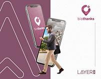 Biothanks - App + Branding