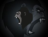 Gorillas - Esport Logo