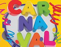 Carnaval - Logo 3D