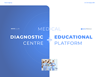 Medical Centre website design.