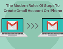 Create Gmail Account On iPhone