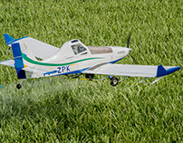 Landing Page Embraer Ipanema 203 Airplane