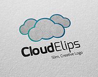 Cloud Elips | Slim, Creative Logo