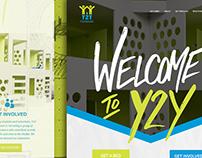 Y2Y: Website Wireframe & Mockups