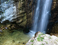 Abruzzo's places of water.
