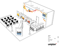 Asahi Photoproducts | Booth Design - drupa 2016