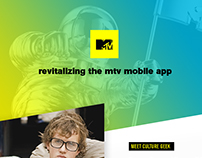 MTV App Revitalized
