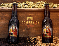 «Evil Companion» craft beer for Top Hops Bar Spb