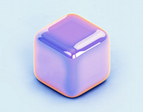 Unicorn Cubes — Quarantine Art Series