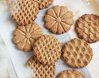 Healthy amaranth, spelt & hazelnuts biscuits