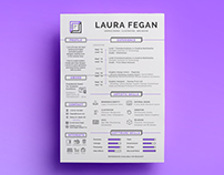 Laura Fegan - CV and Self-Branding Project