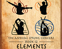 Claremont Colleges Taiko Spring Concert 2016 Flyer