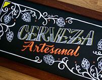 Pizarra Santa Rosa - Handmade Lettering