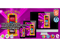 HTML5 Game: Spin & Win