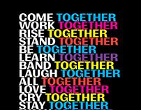 AIGA Unity Gala Poster