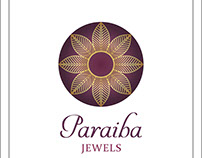 Pariba jewels logo design