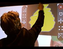 Graffiti digital Le Cinq Codet