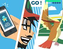 Pokemon Go minimalist Poster