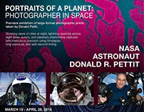Astronaut Donald Pettit: RIT Exhibition poster: 2018