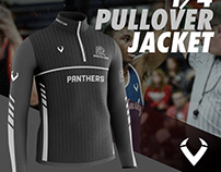 1/4 Pullover Jacket Costum Mockup