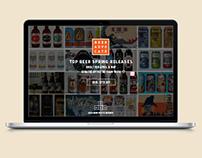 Beer Advocate Re-Design