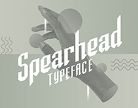 Spearhead Typeface
