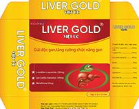 Bao bì thuốc bổ gan Liver Gold