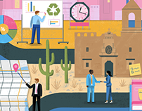 Local Government Careers Illustration