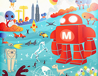 Poster for MAKER FAIRE NYC
