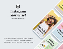 Instagram Stories Pastel Set