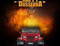 Mahindra THAR - Happy Dussehra