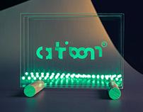 atrioom Vol.1 - Identity design by Treize grammes